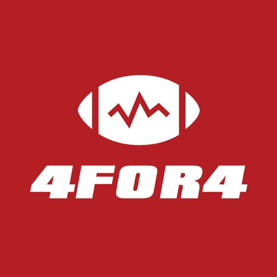 4for4 fantasy football podcast logo