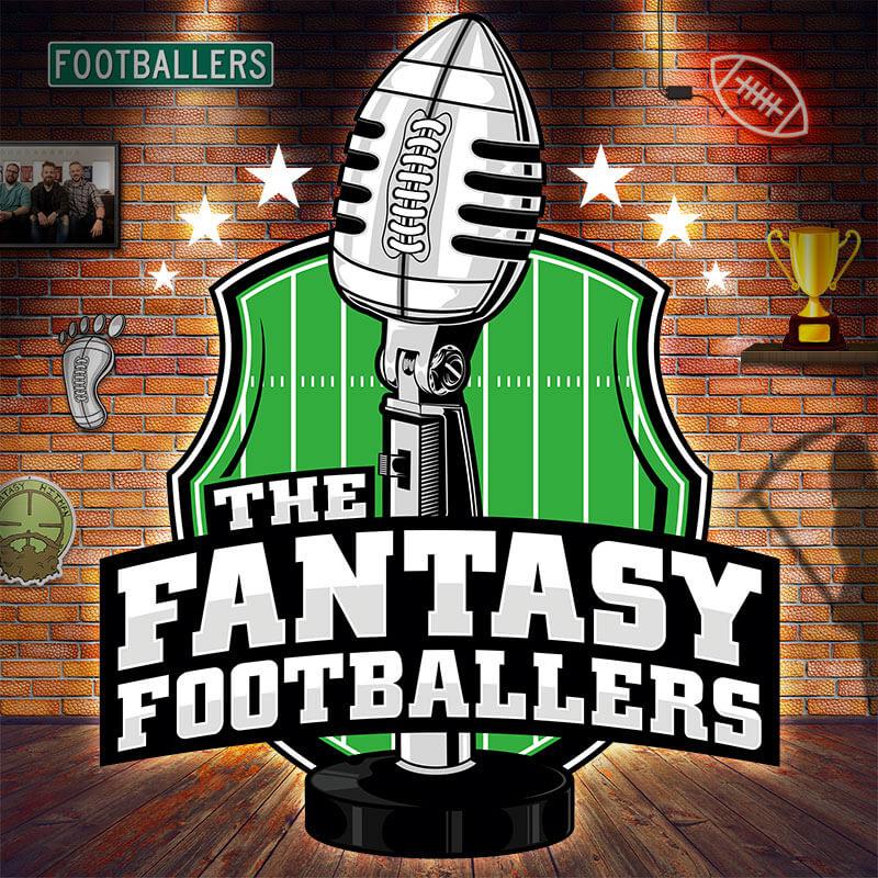 The Fantasy Footballers podcast logo