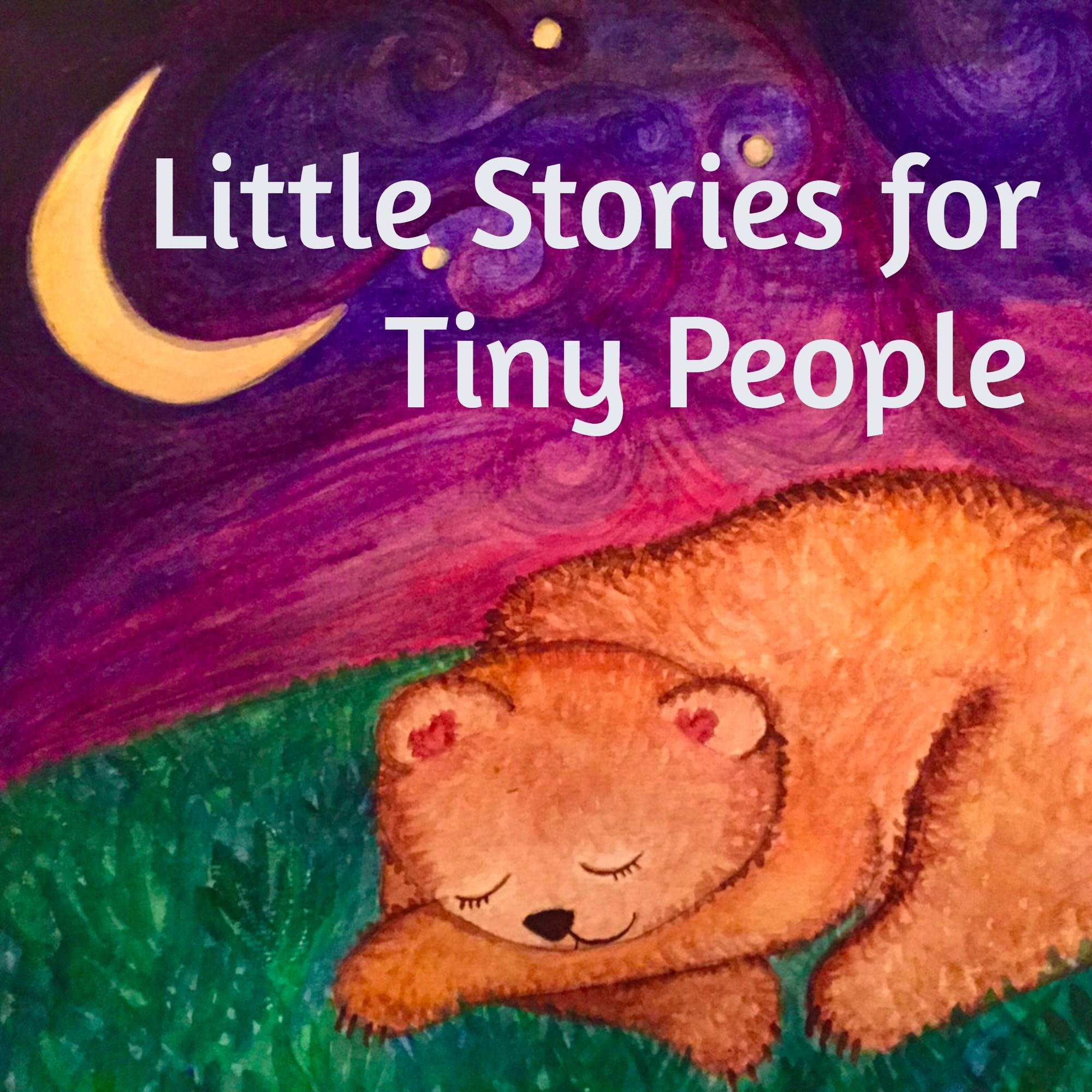Little Stories for Tiny People podcast logo