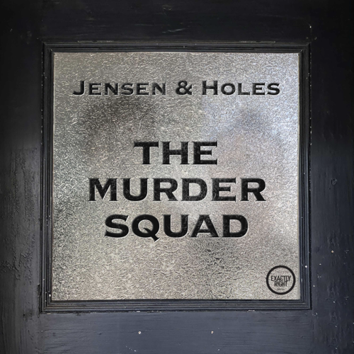 True crime podcasts, Jensen & Holes The Murder Squad logo