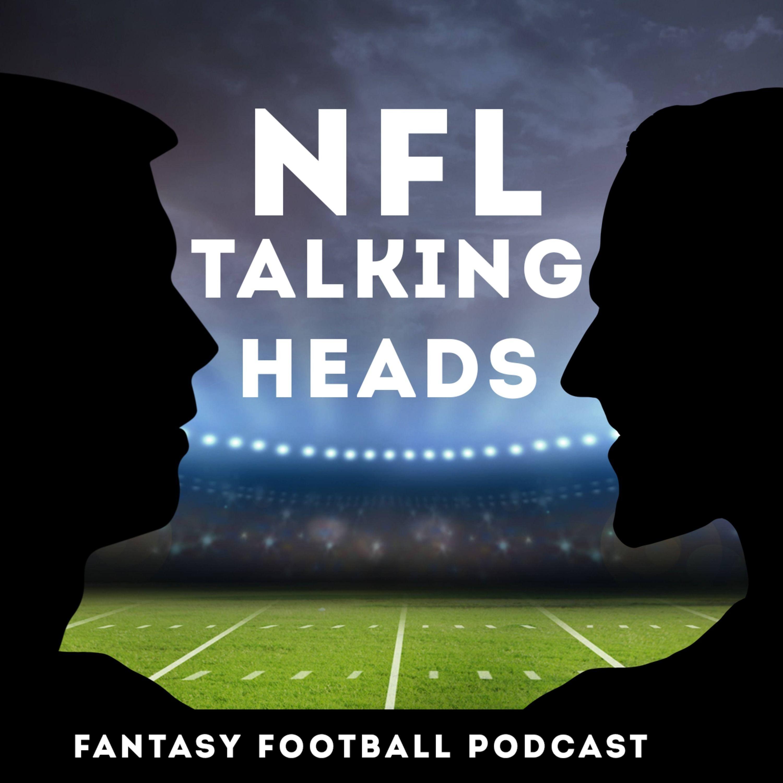 NFL Talking Heads fantasy football podcast logo