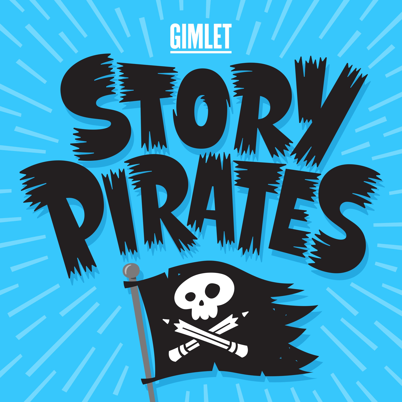 Story Pirates podcast logo