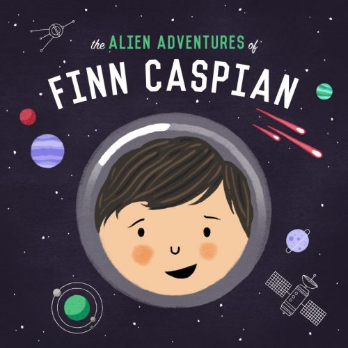 The Alien Adventures of Finn Caspian podcast logo