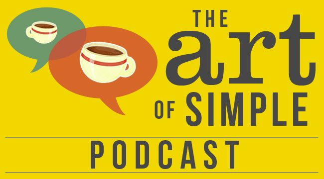 The Art of Simple podcast logo
