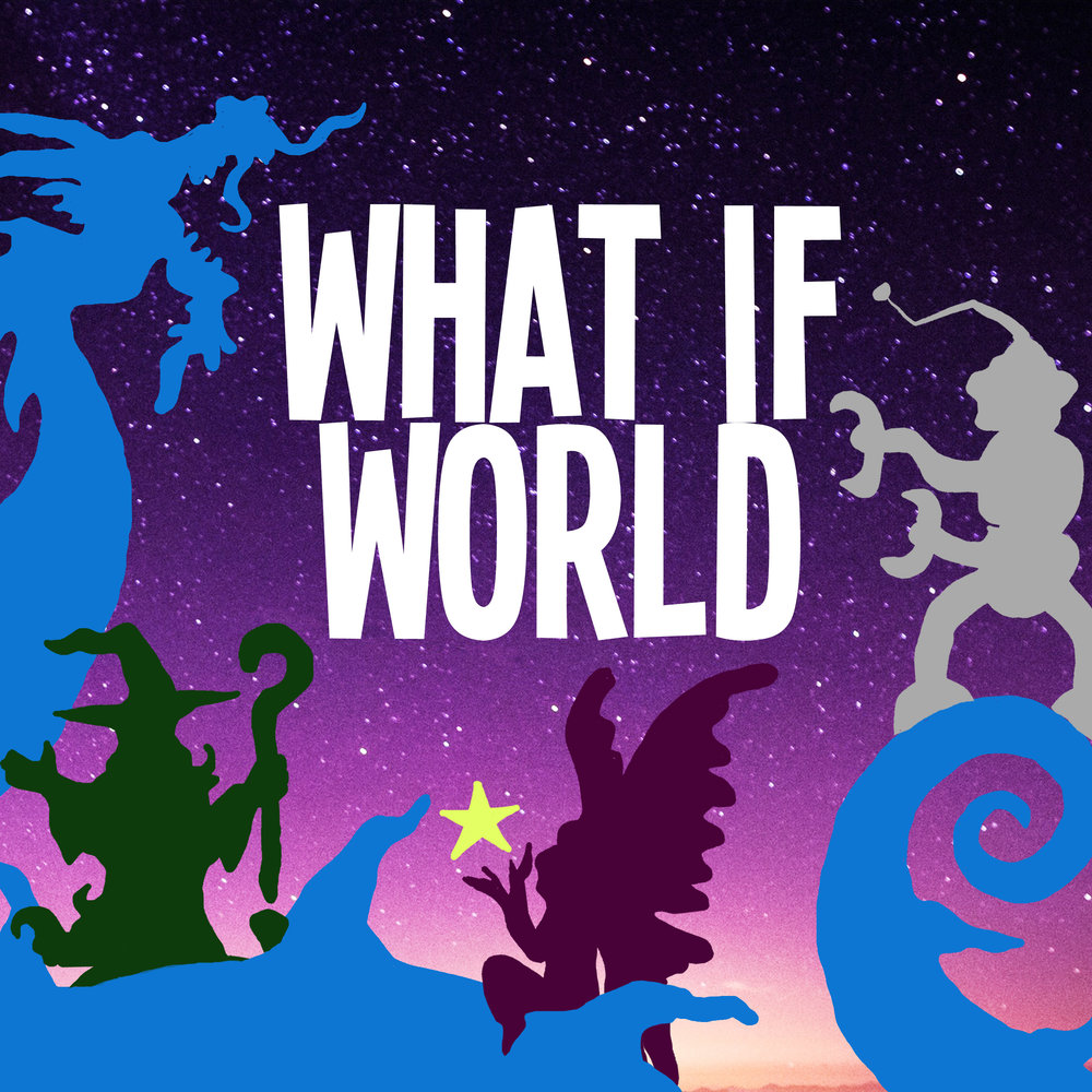 What If World - Stories for Kids podcast logo