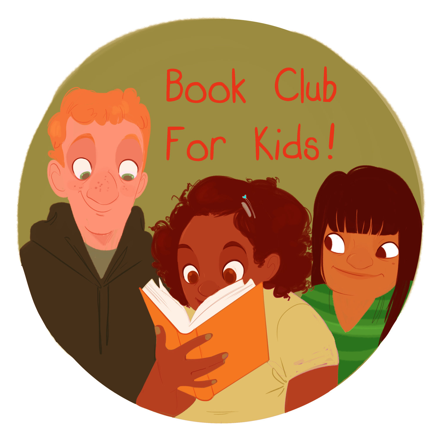 Book Club for Kids! podcast logo