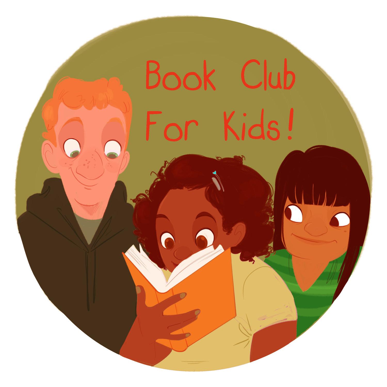 Book Club for Kids! podcast logo