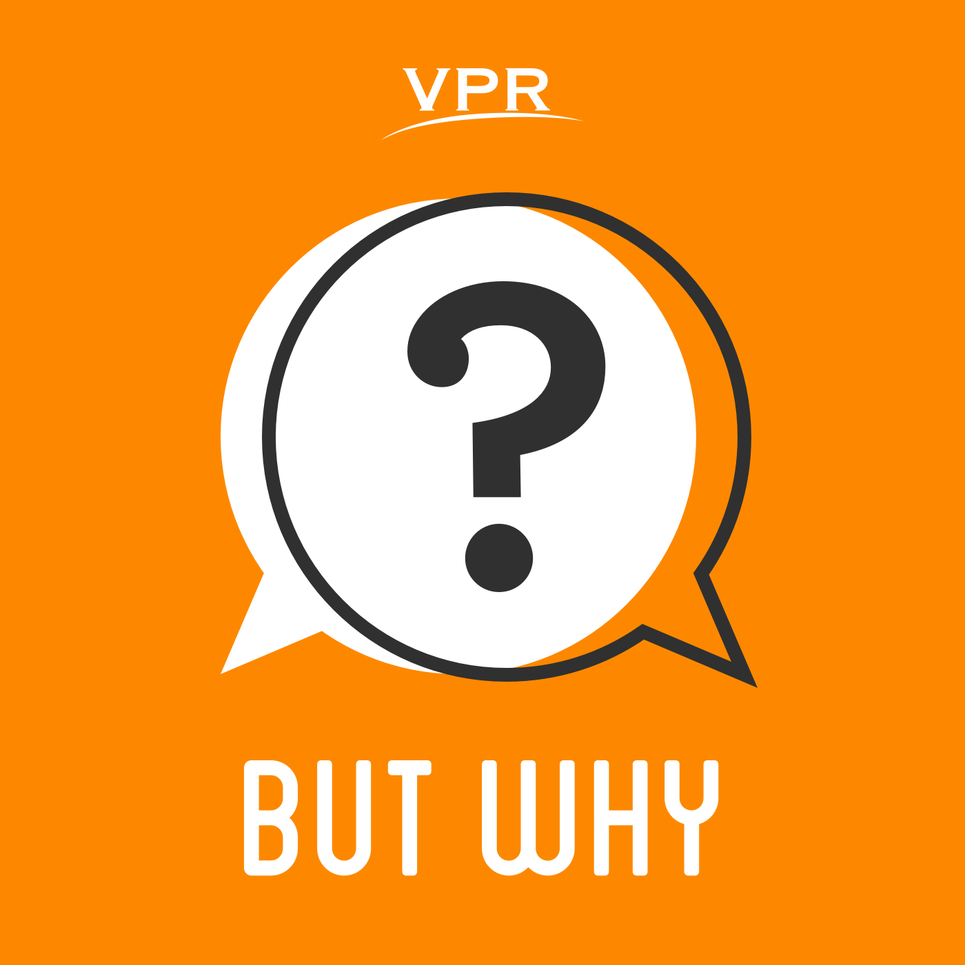 But Why: A Podcast for Curious Kids podcast logo