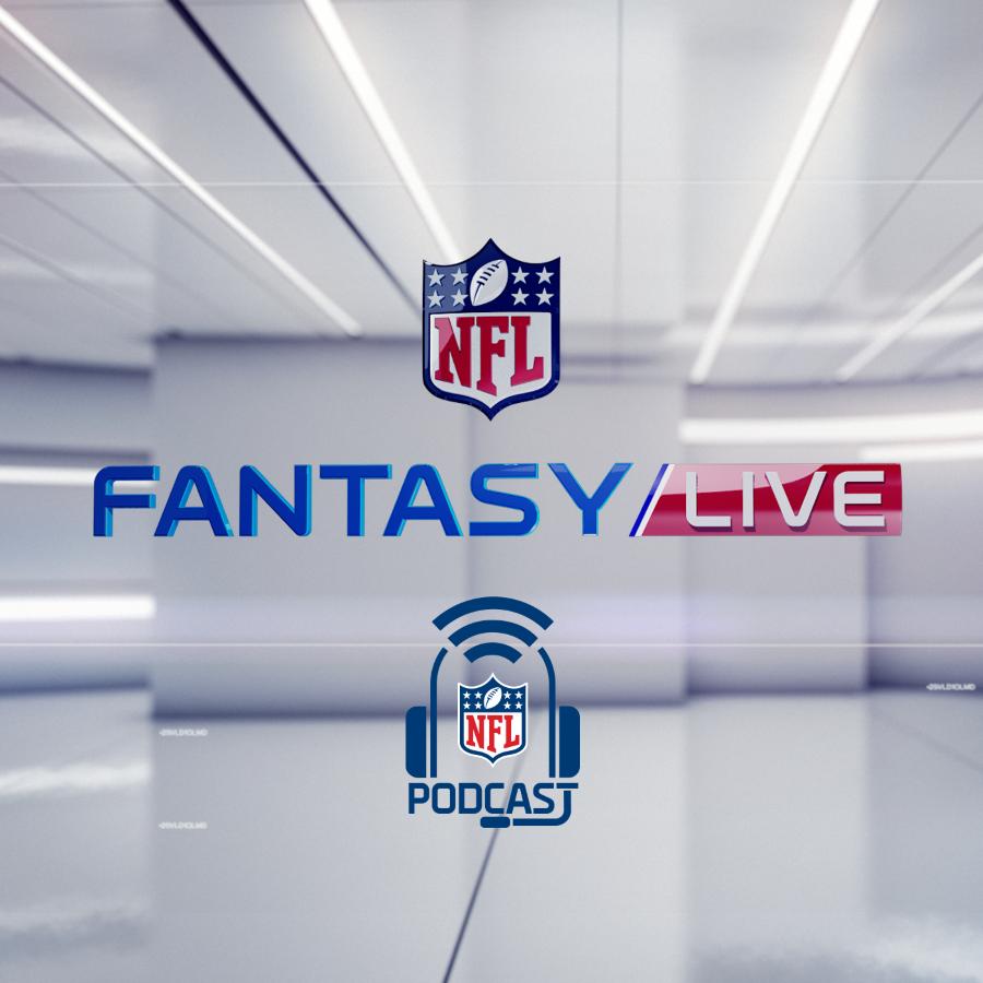 Podcast logo for NFL Fantasy Live podcast