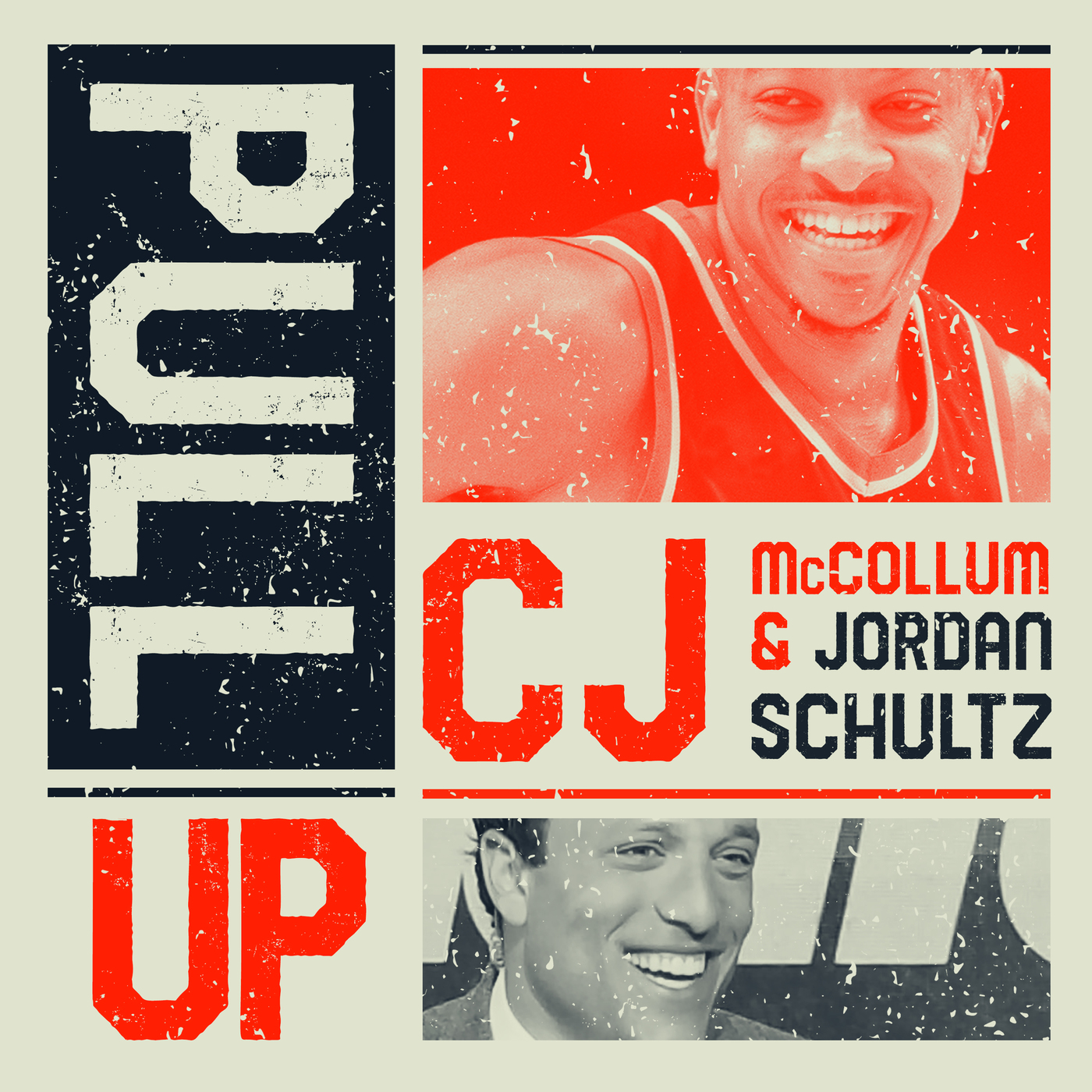 Pull Up with CJ McCollum logo for NBA podcasts
