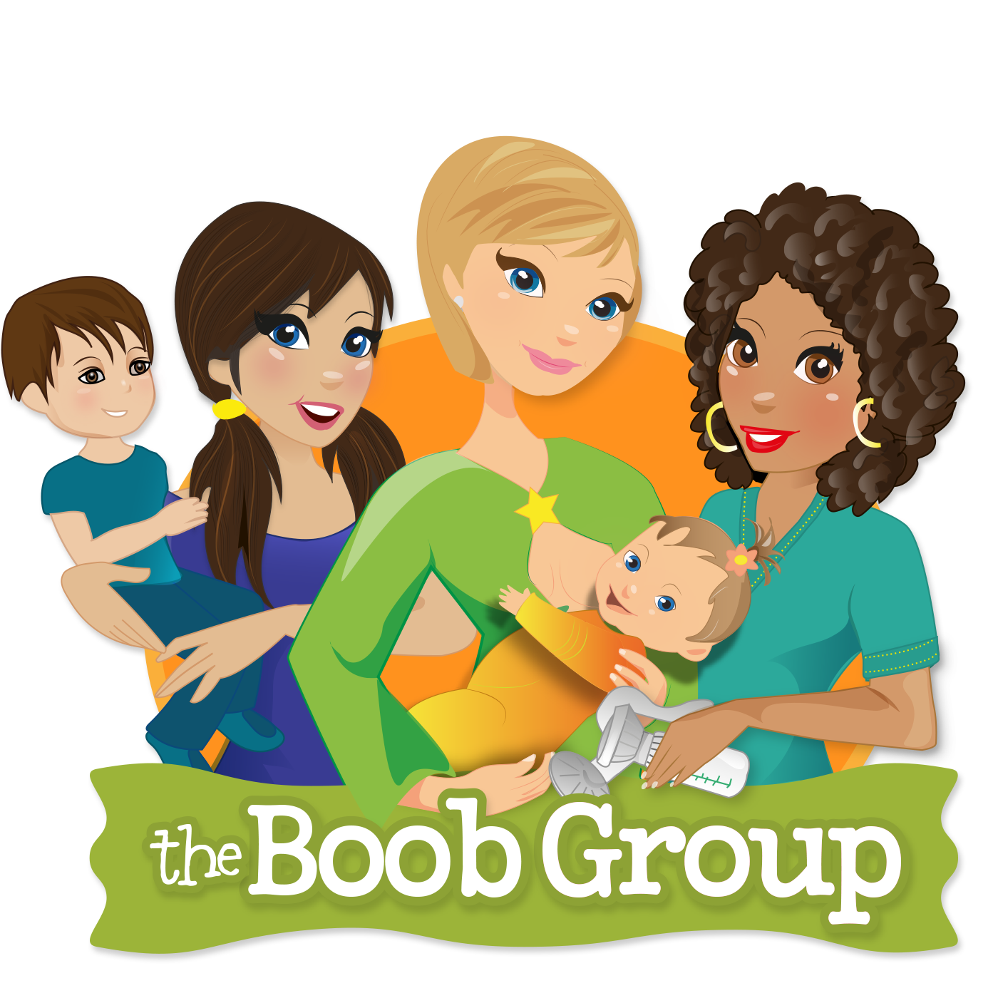 The Boob Group podcast logo