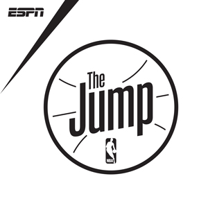 The Jump podcast logo