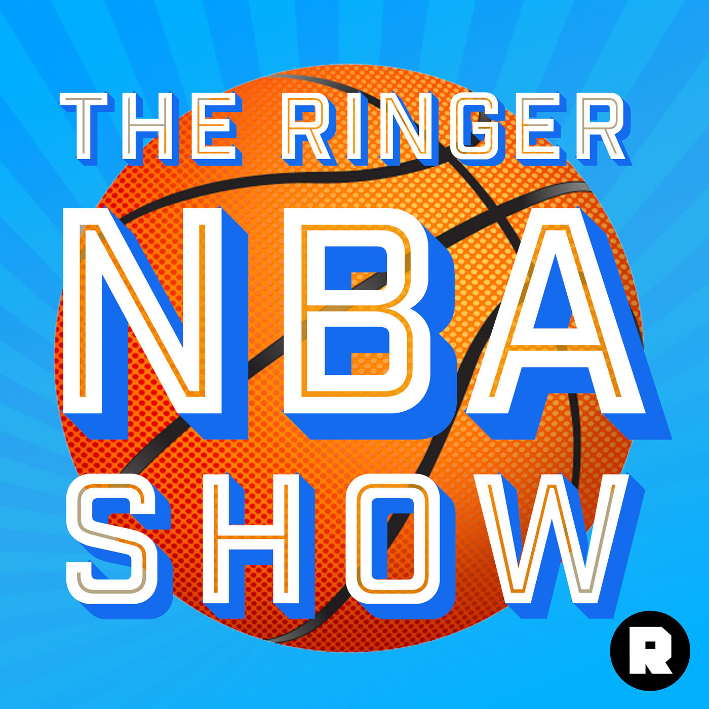 The Ringer NBA Show logo for NBA podcasts