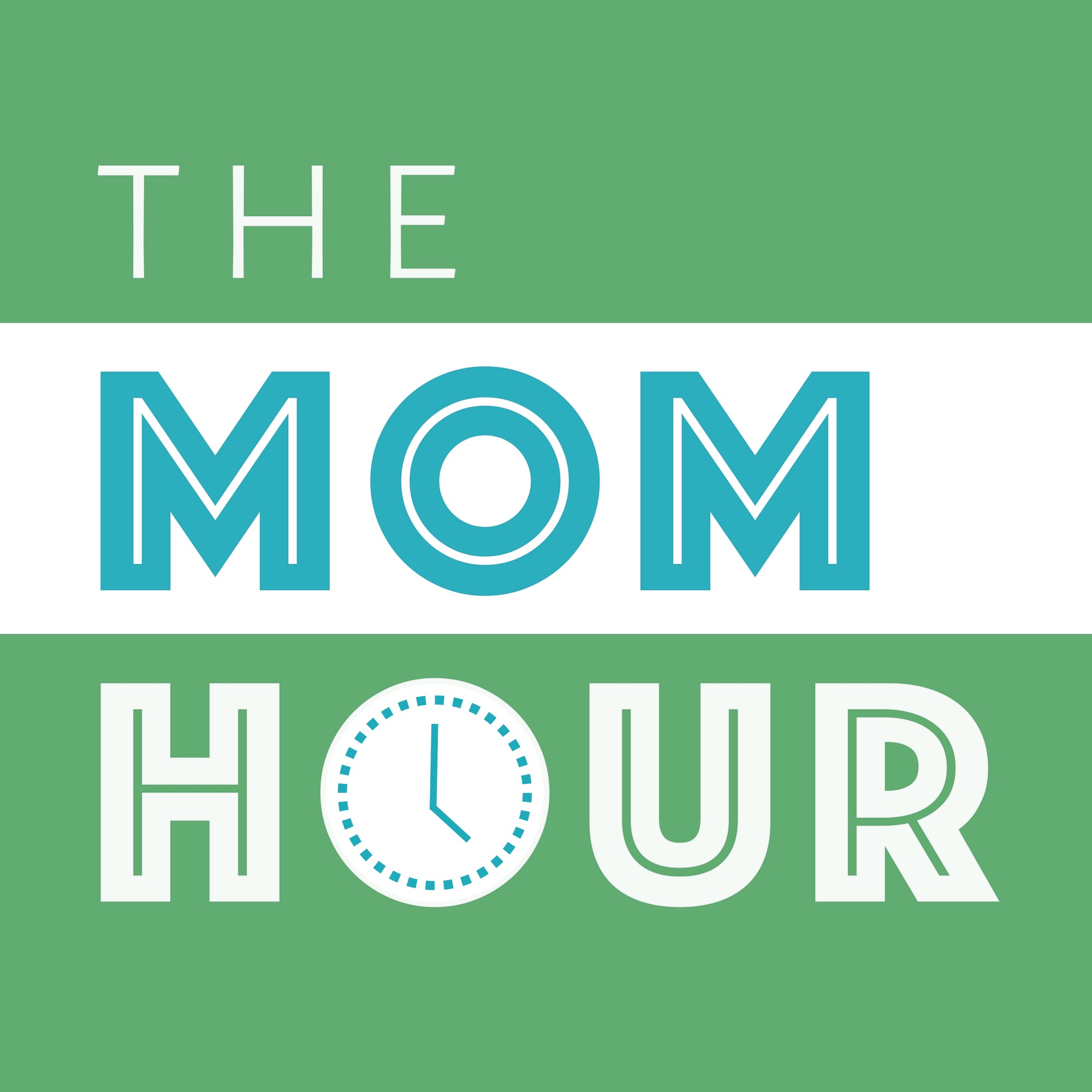 The Mom Hour Podcast logo