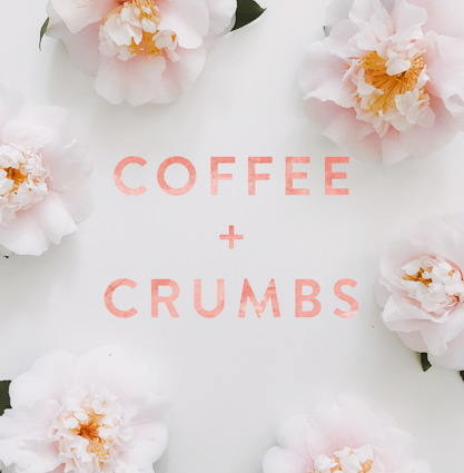 Coffee + Crumbs podcast logo
