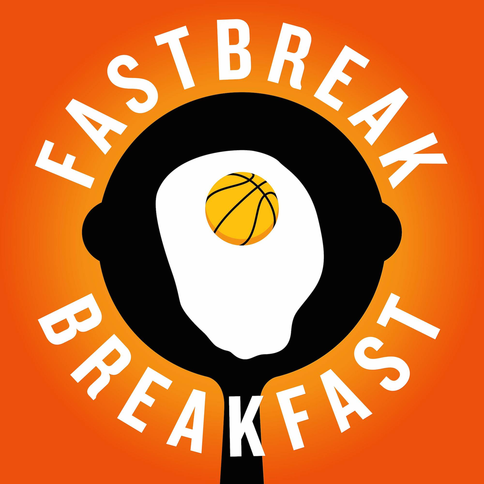 Fastbreak Breakfast podcast logo