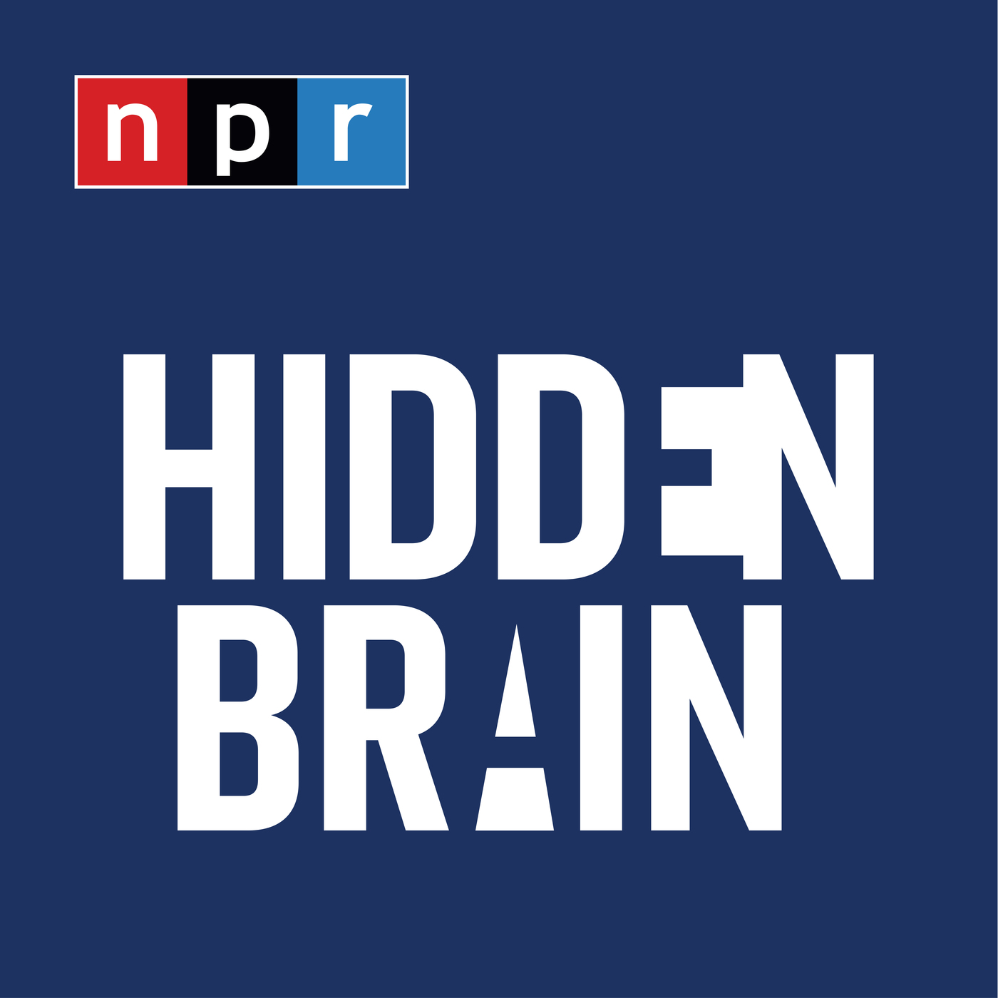 Hidden Brain podcast logo
