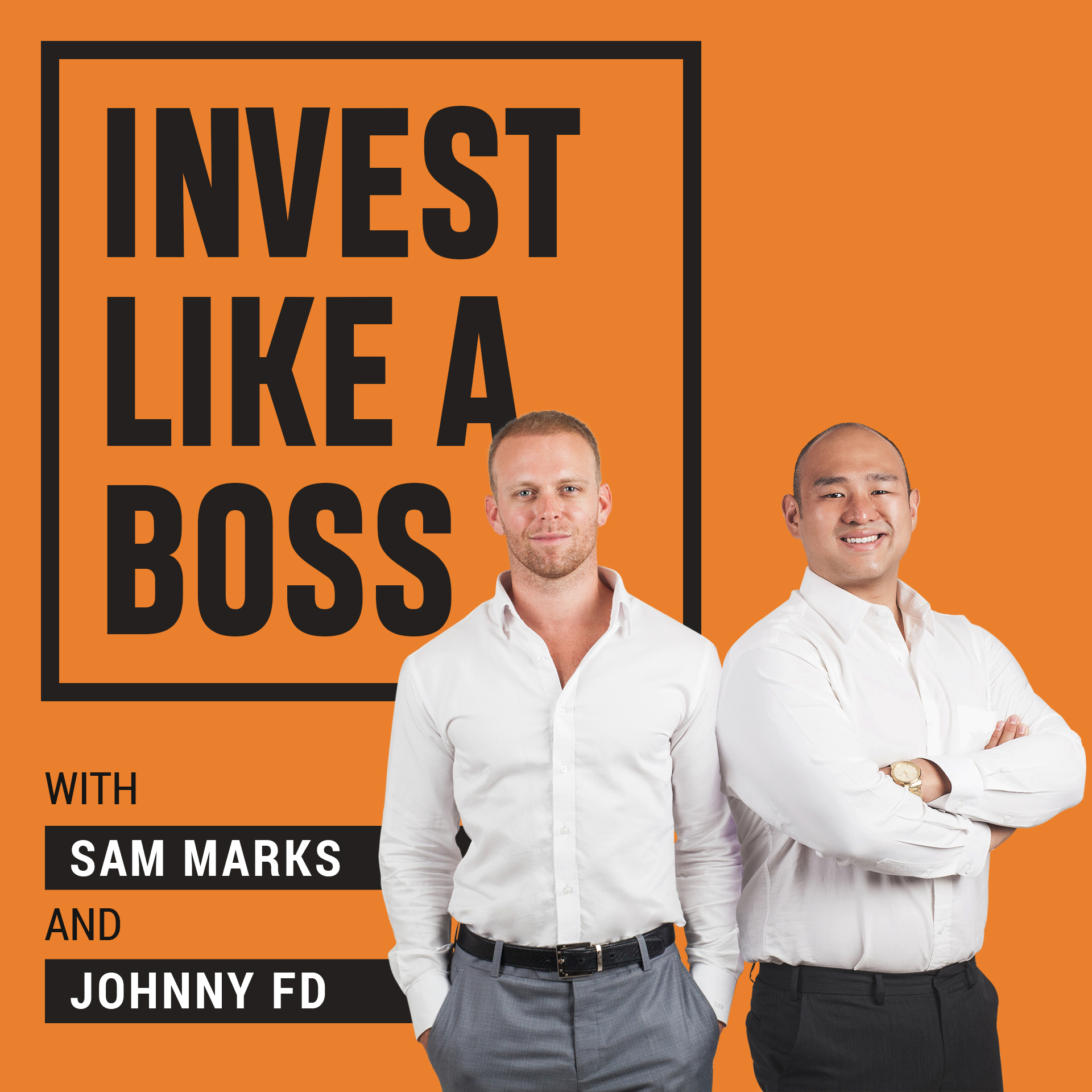 Invest Like a Boss podcast logo, best of investing podcasts lists