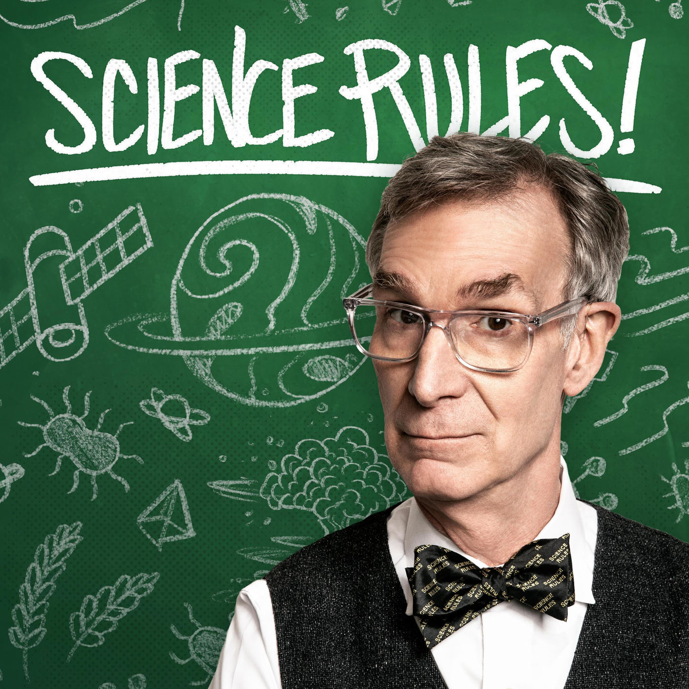 Science Rules! With Bill Nye podcast logo