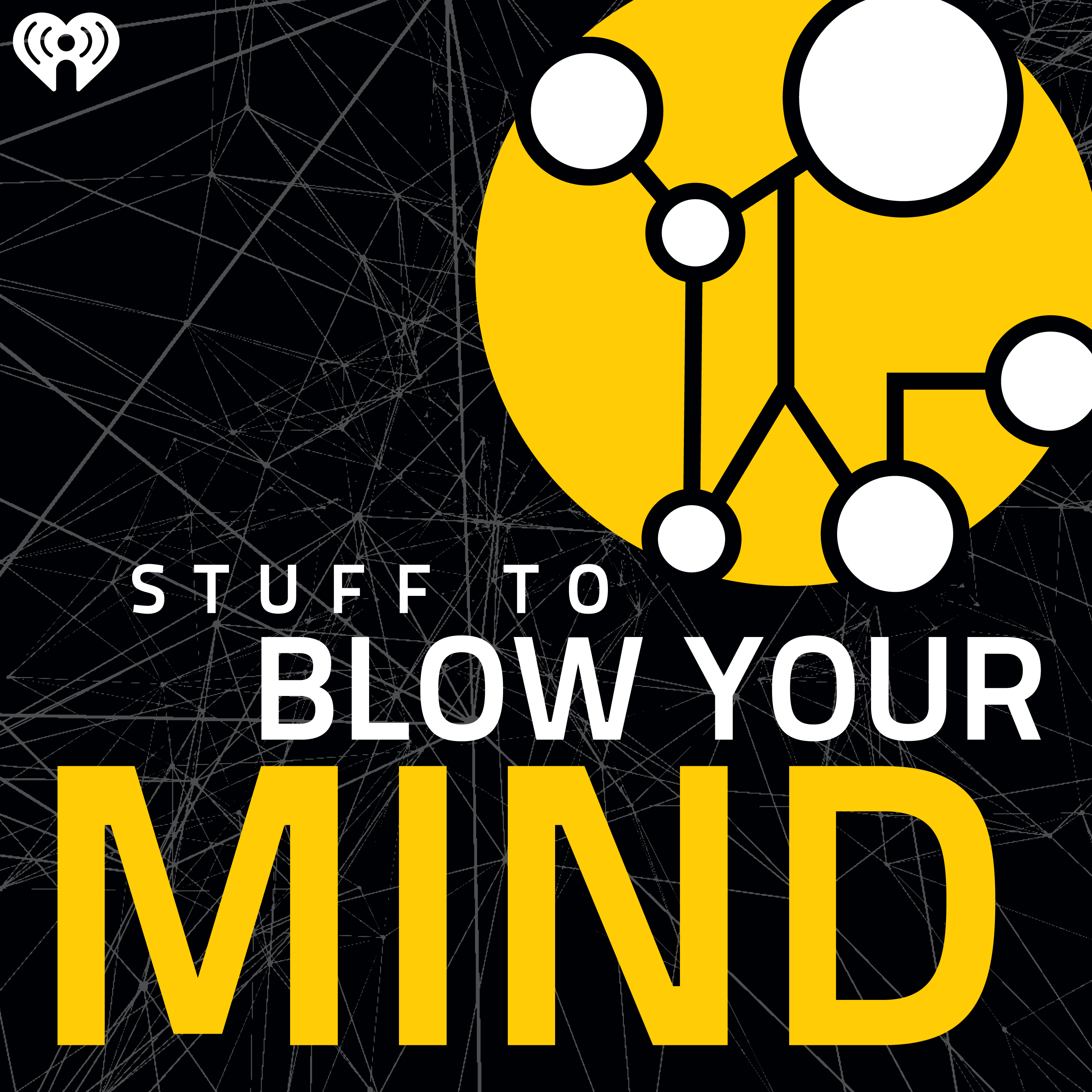 Stuff to Blow Your Mind podcast logo