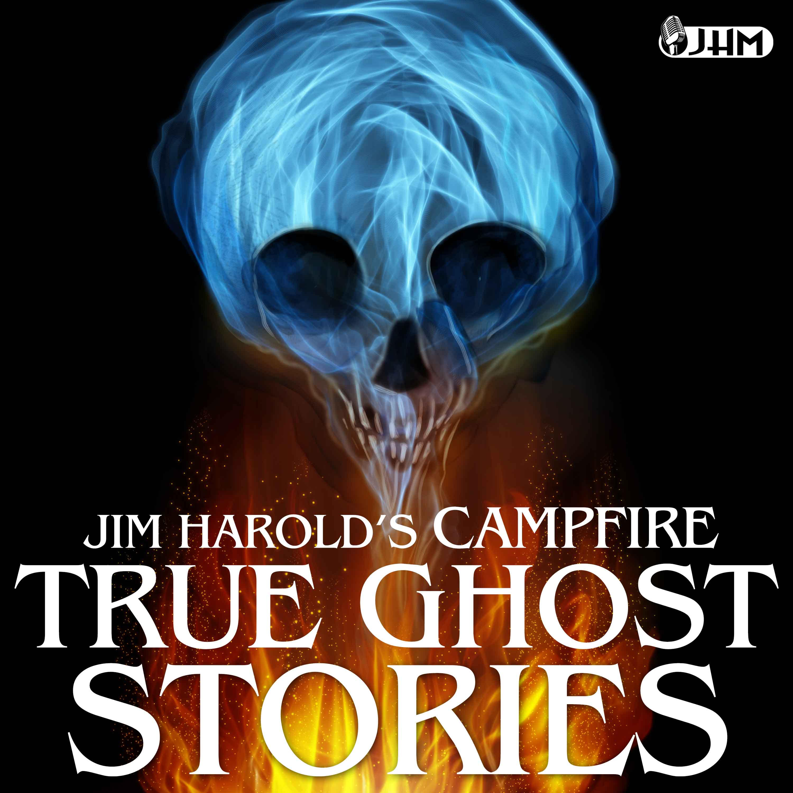 Jim Harold's Campfire True Ghost Stories scary podcasts logo