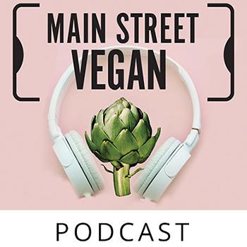 Main Street Vegan podcasts logo