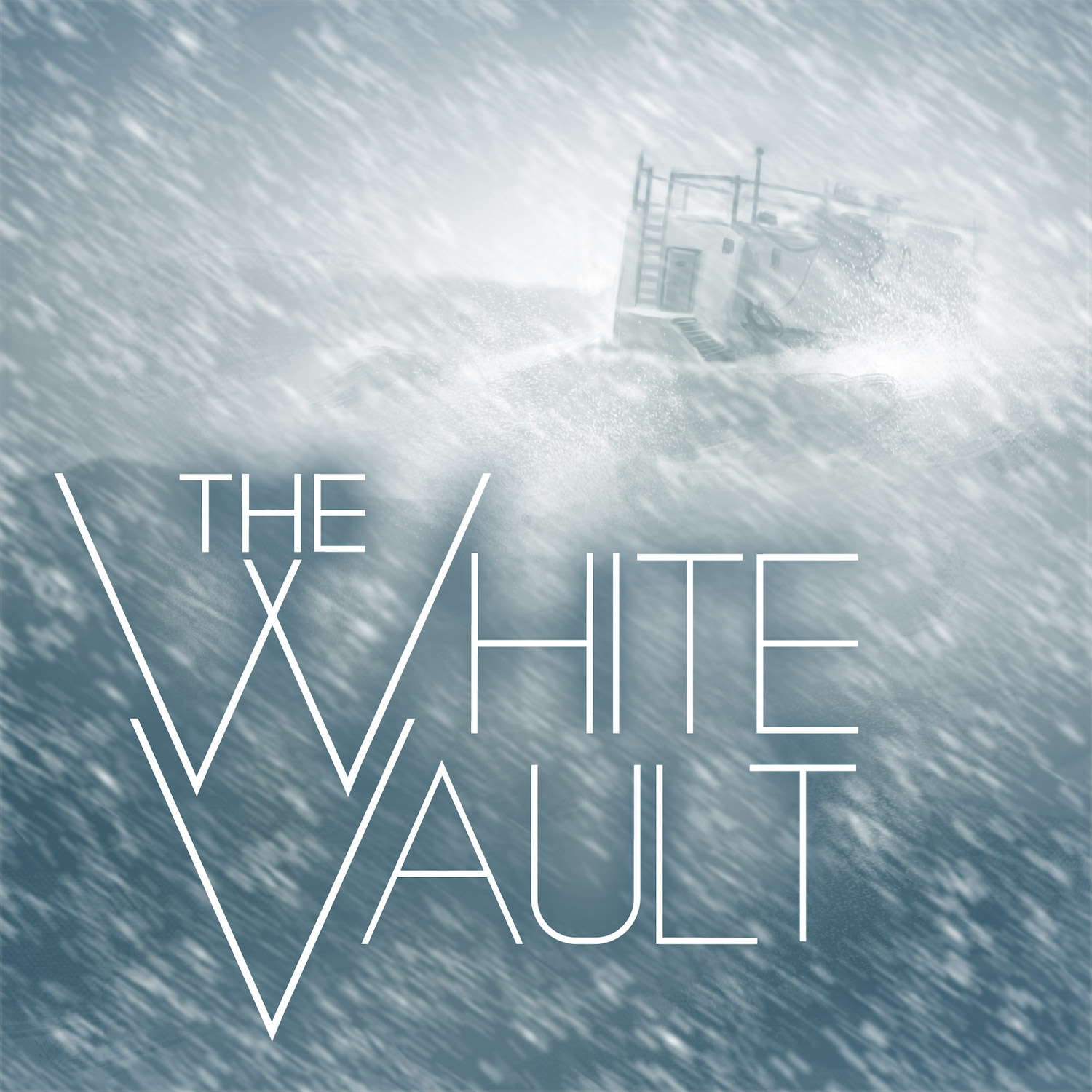 The White Vault scary podcasts logo