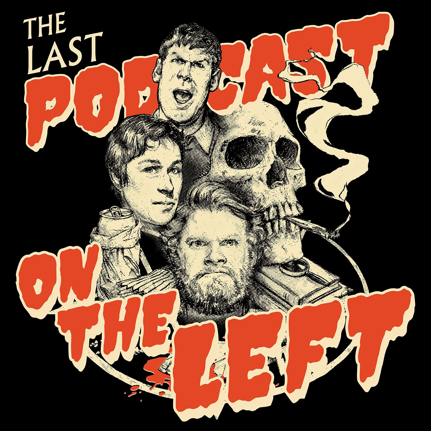 The Last Podcast on the Left podcast logo