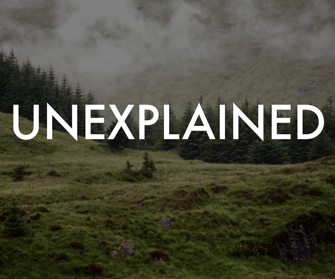 Unexplained podcast logo