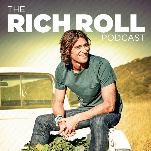 The Rich Roll podcast logo