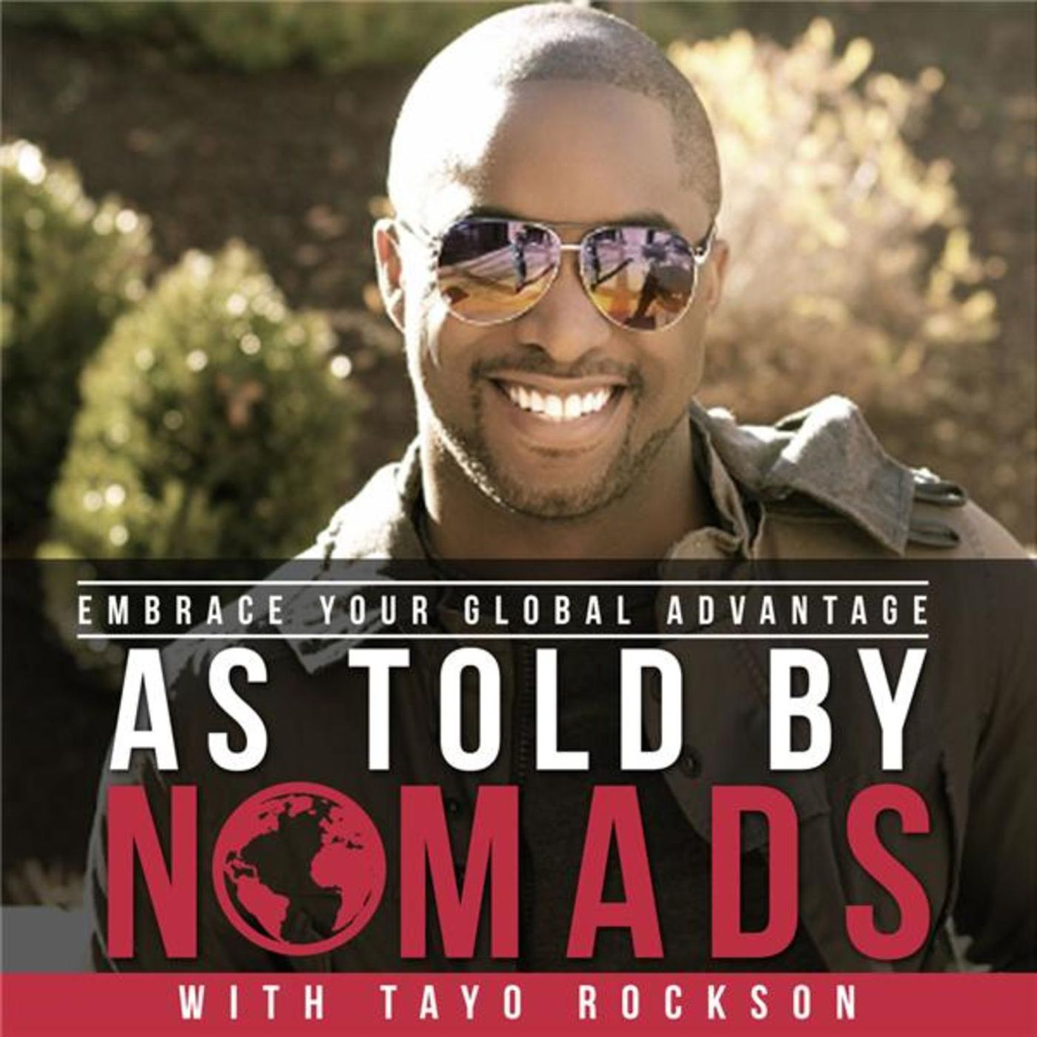 As told by nomads travel podcasts logo