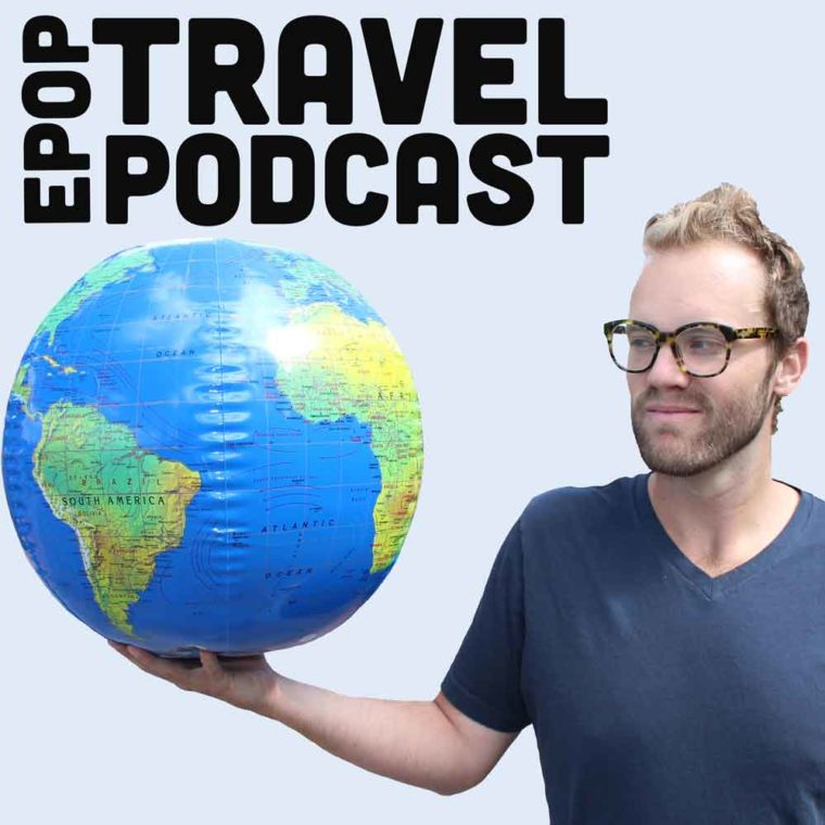 Extra pack of peanuts travel podcasts logo
