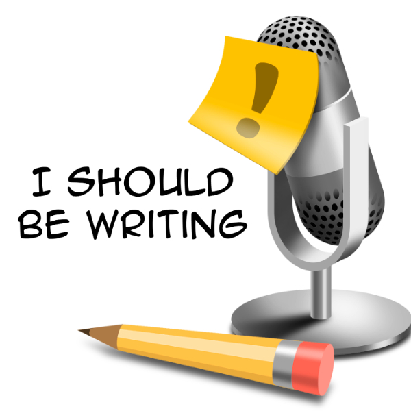 I should be writing podcasts for writers logo