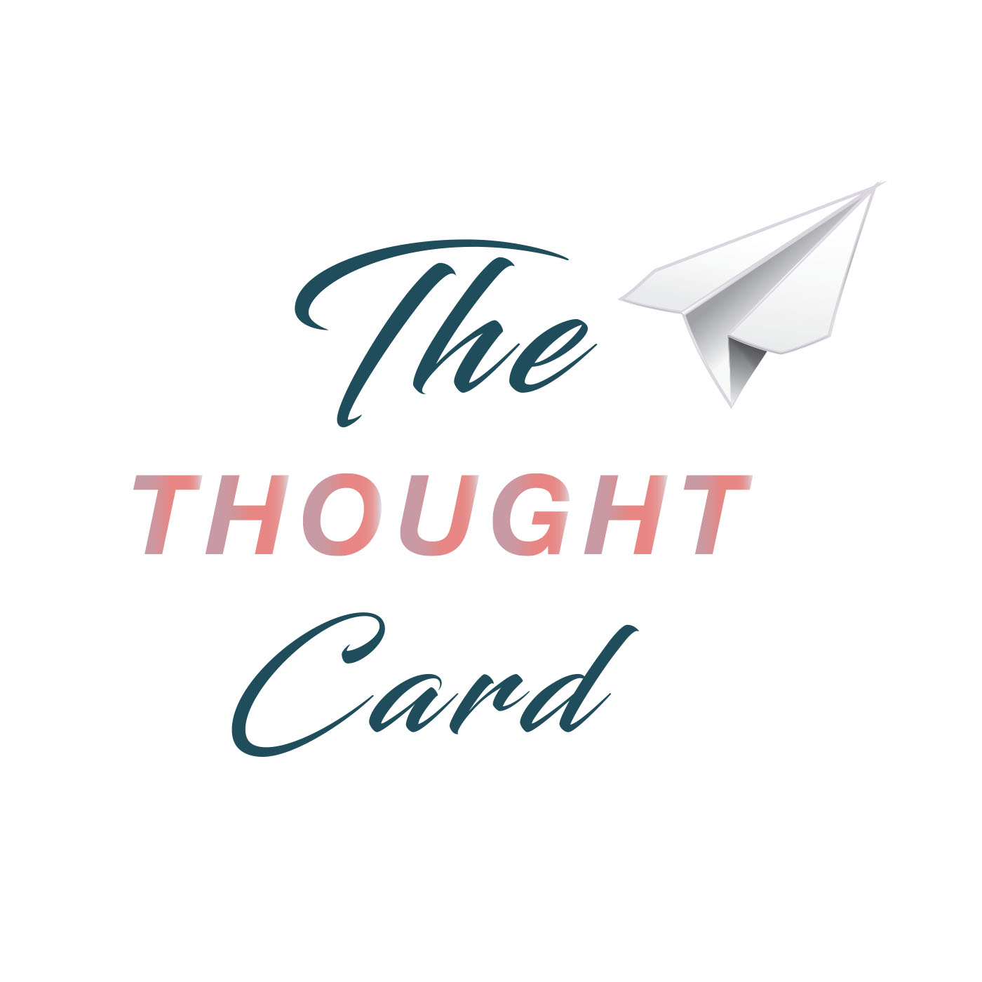 The Thought Card travel podcasts logo