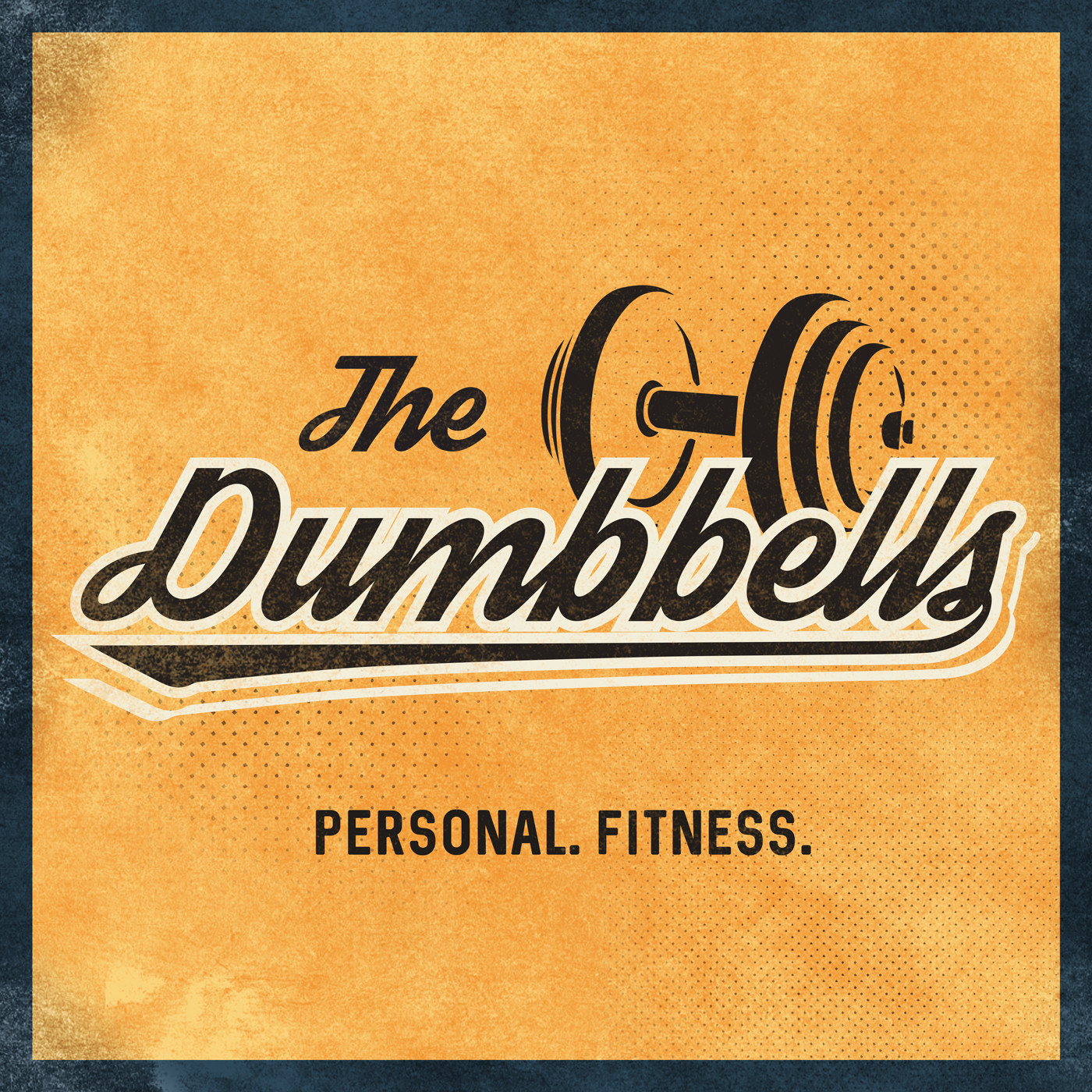 The Dumbbells podcast logo