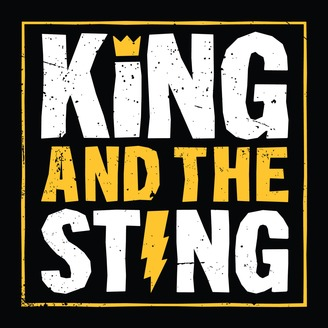 King and the Sting podcast logo