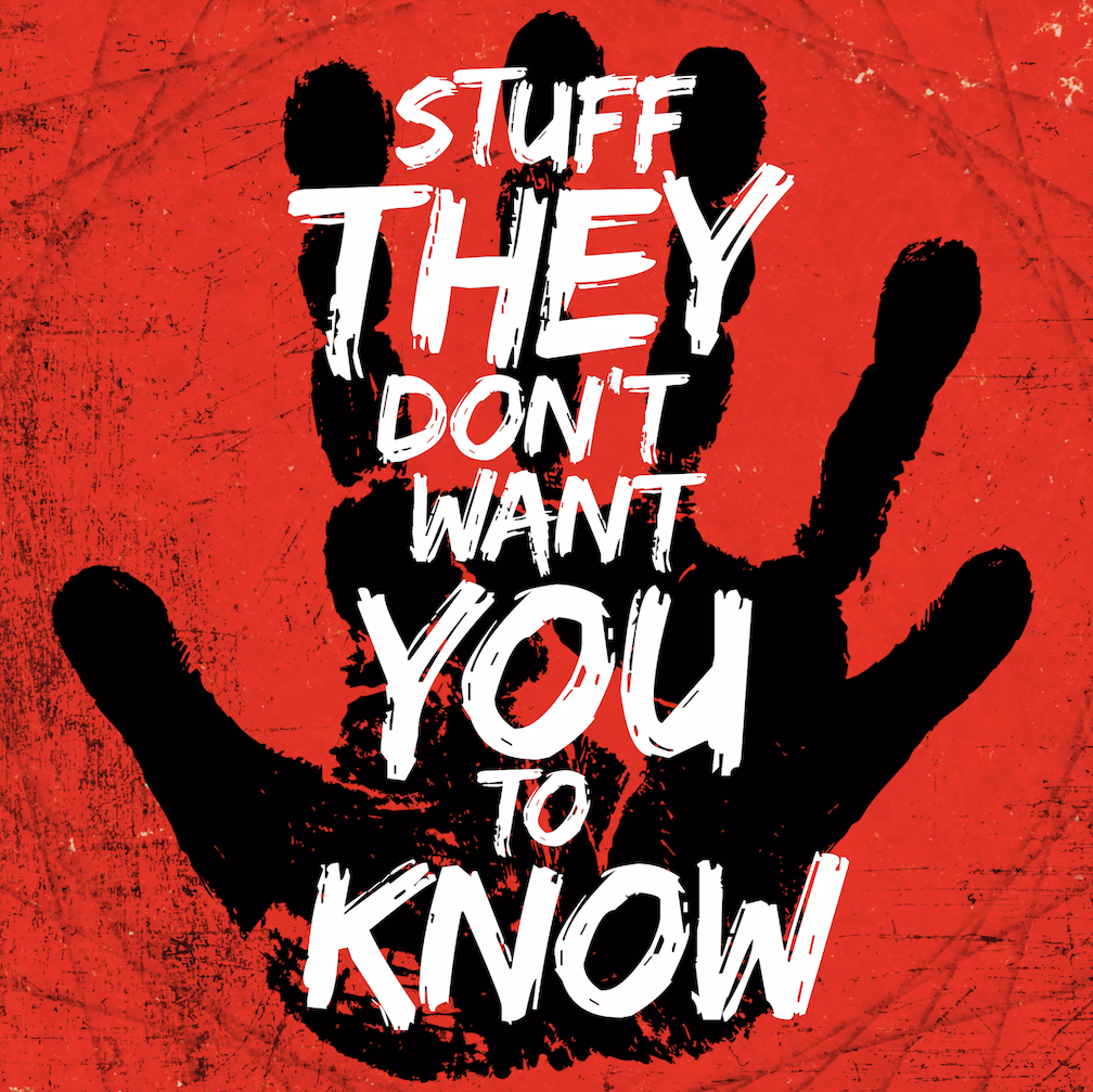 Stuff They Don't Want You to Know podcast logo
