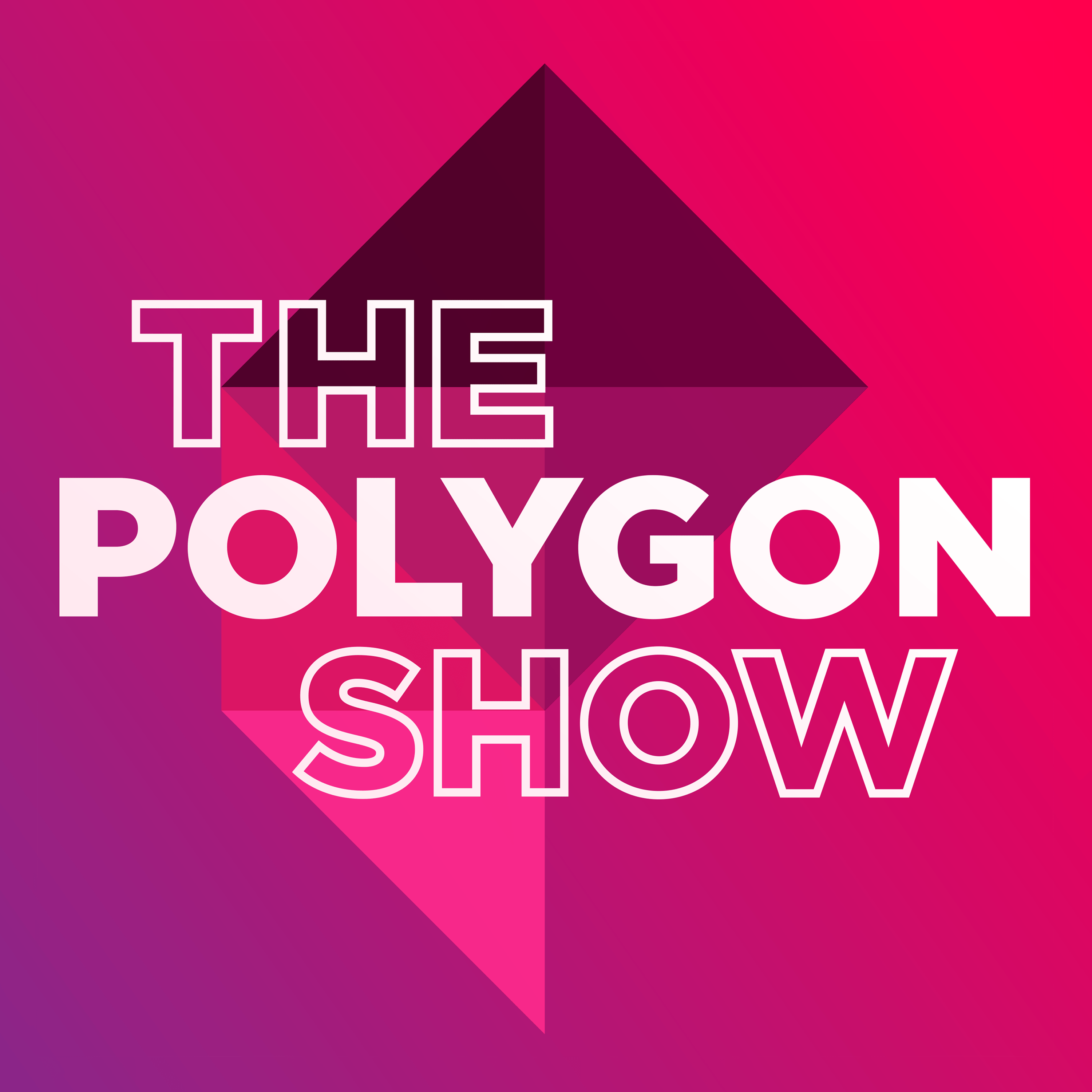 The Polygon show podcasts logo