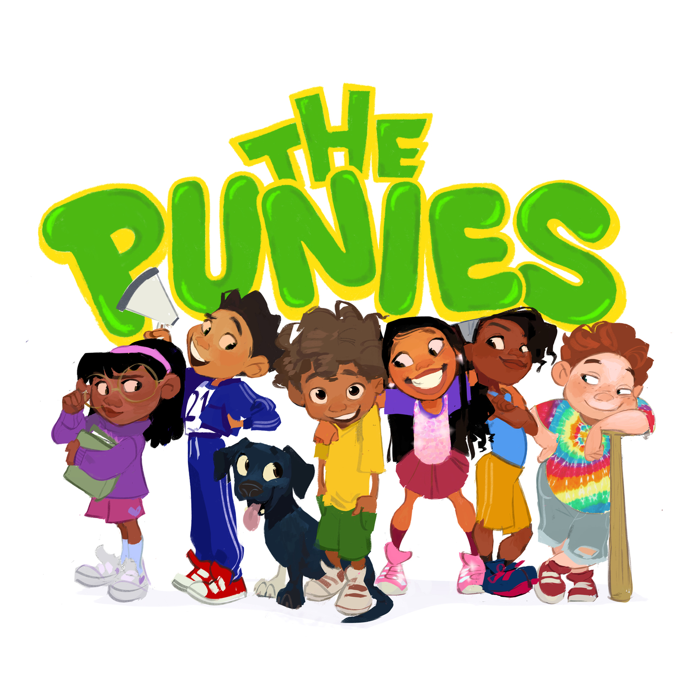 The Punies by Kobe Bryant podcast logo