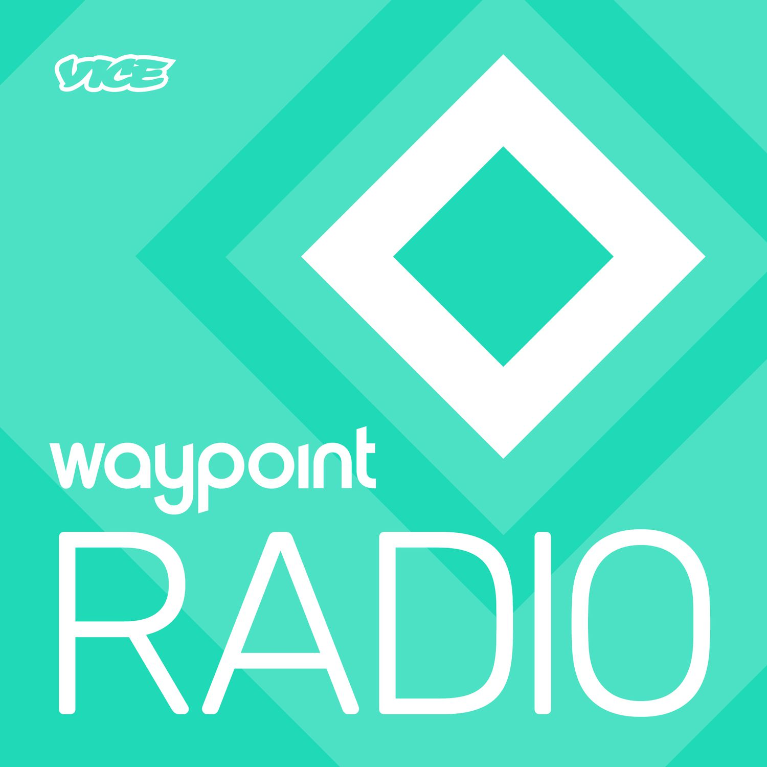 Waypoint Radio video game podcasts logo