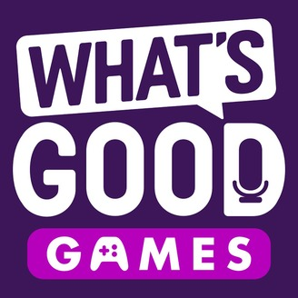 What's good games podcast logo