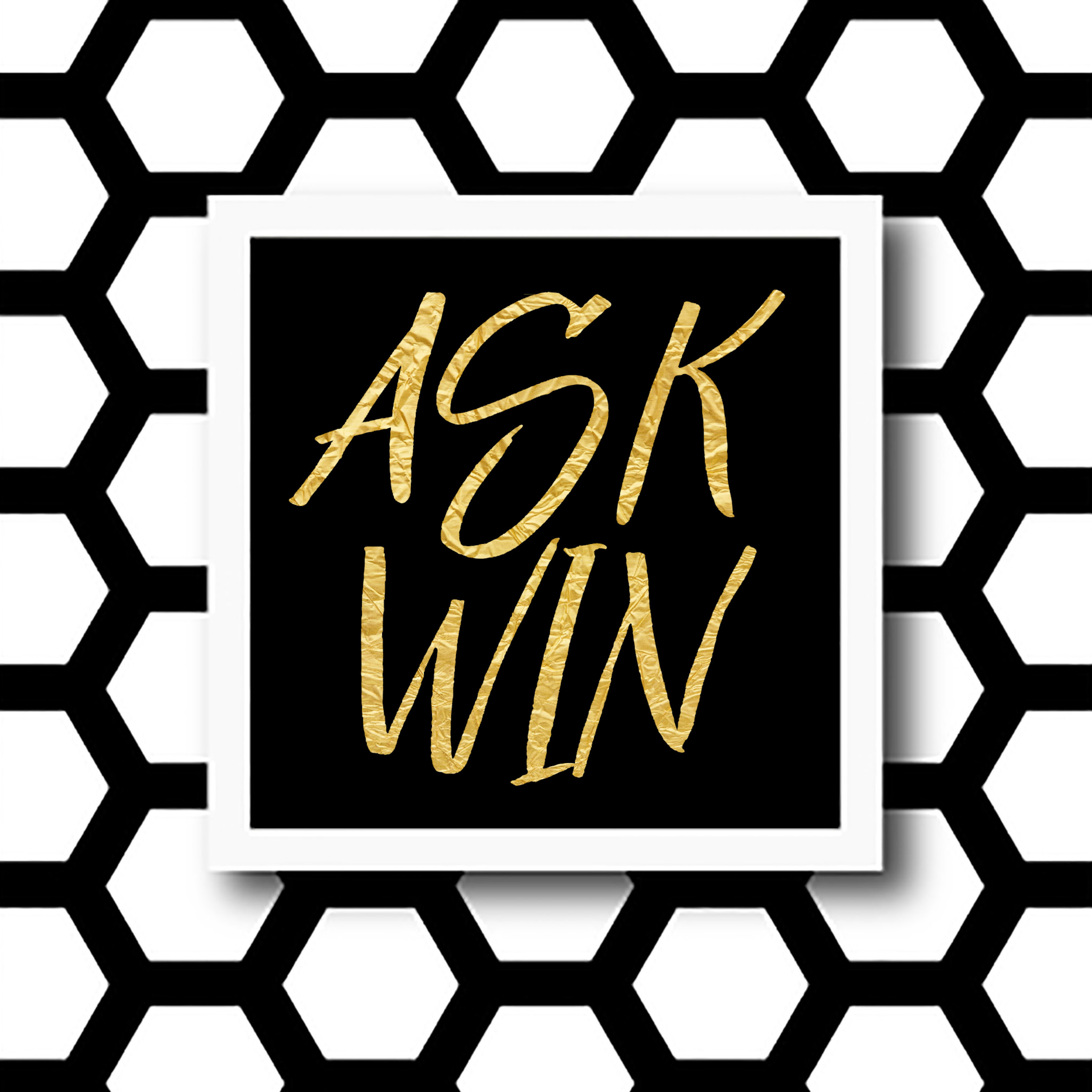 Ask Win podcast logo