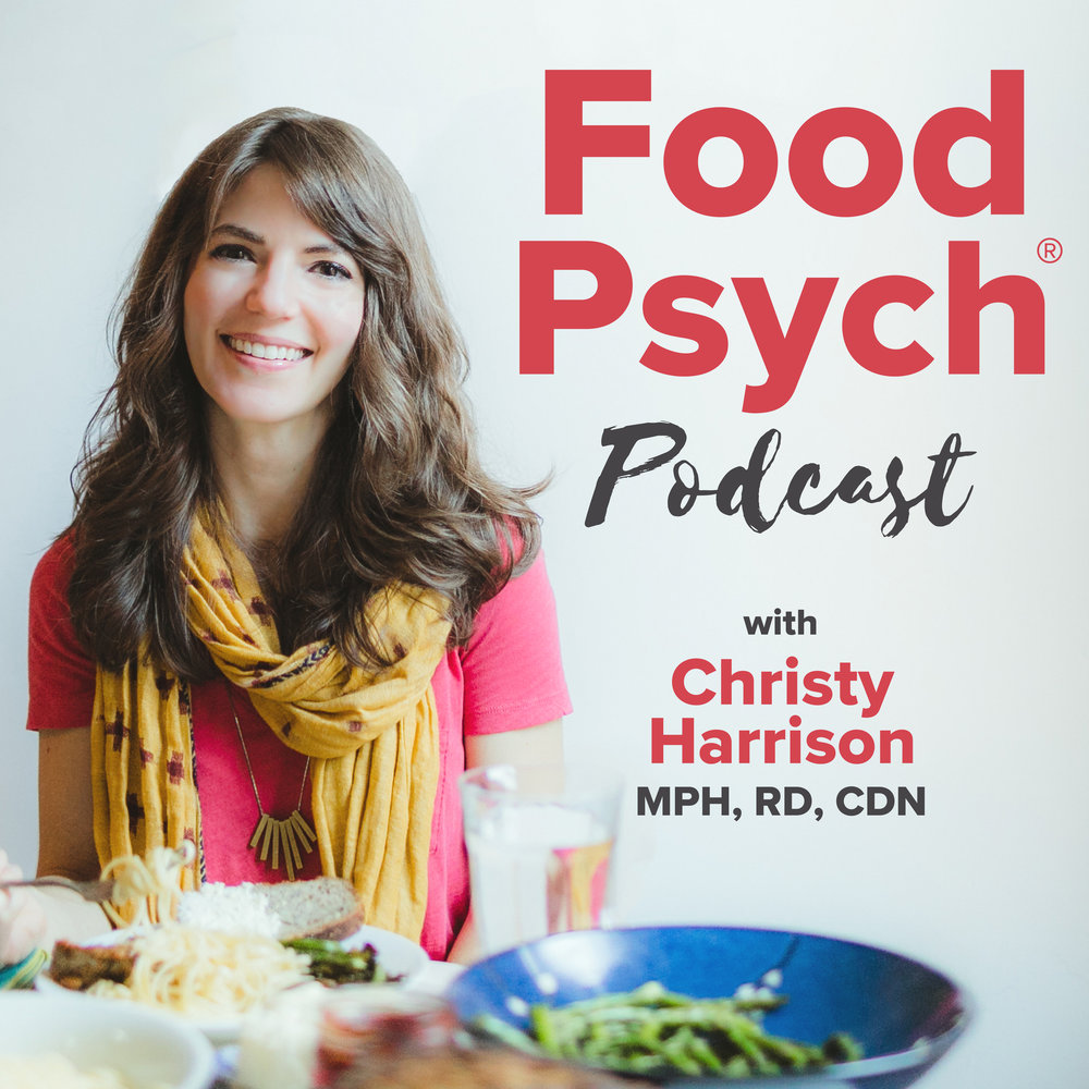 Food Psych nutrition podcasts logo