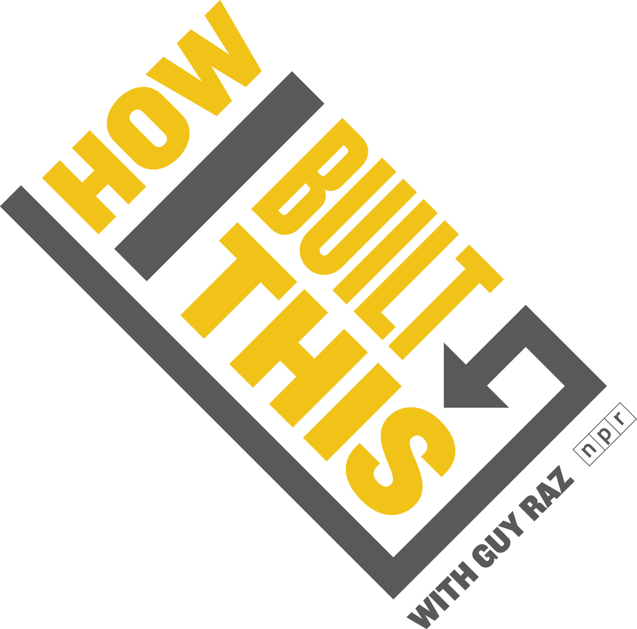 How I Built This with Guy Raz podcast logo