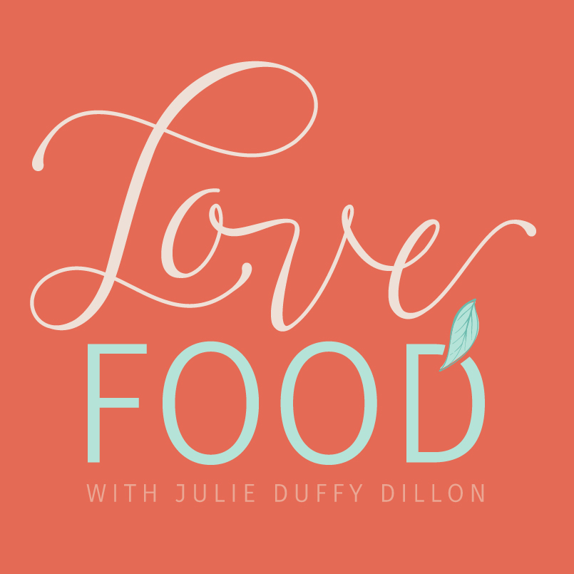 Love, Food nutrition podcasts logo