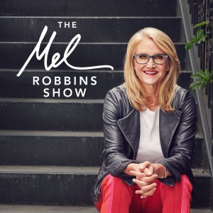 The Mel Robbins Show motivational podcast logo