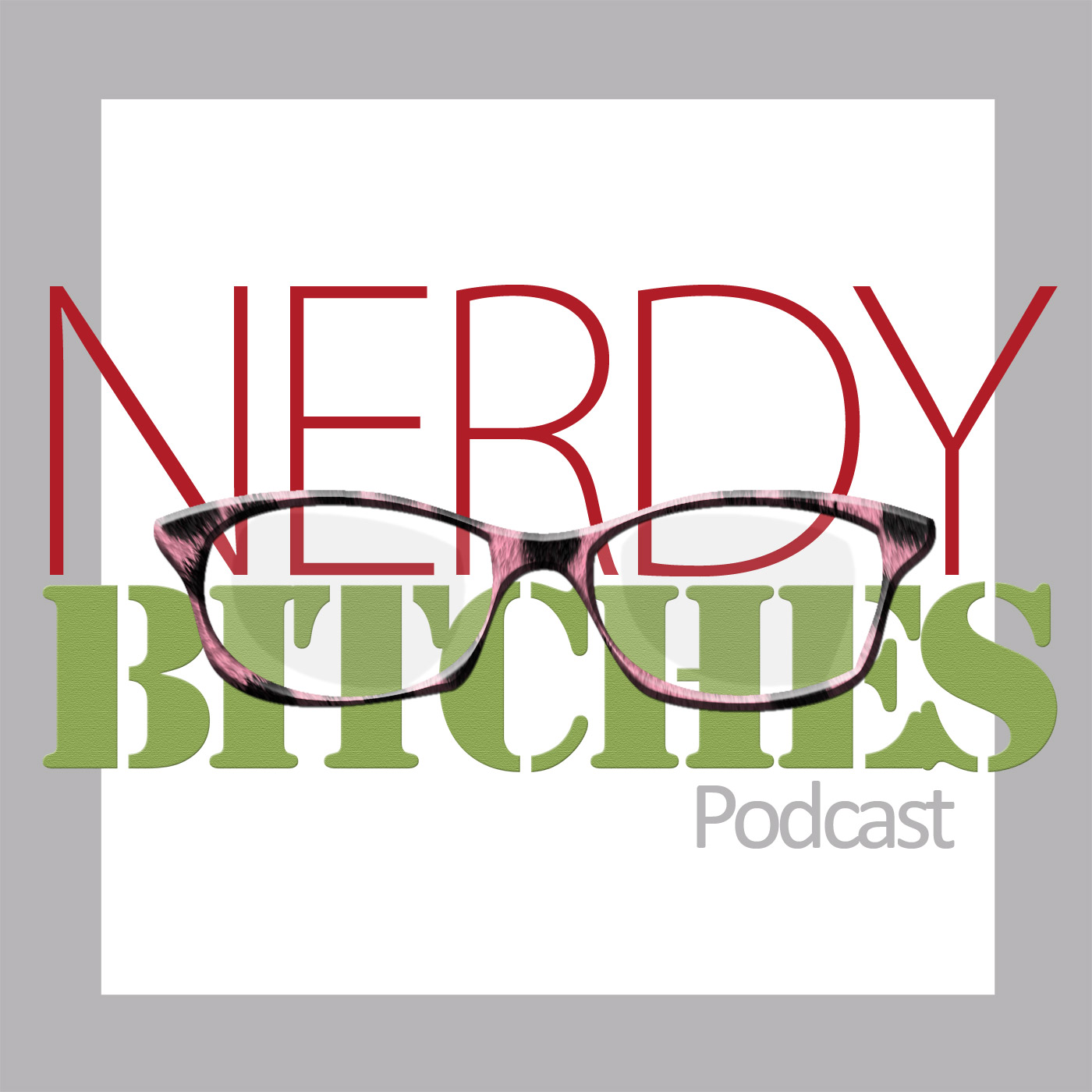 Nerdy Bitches Podcast logo