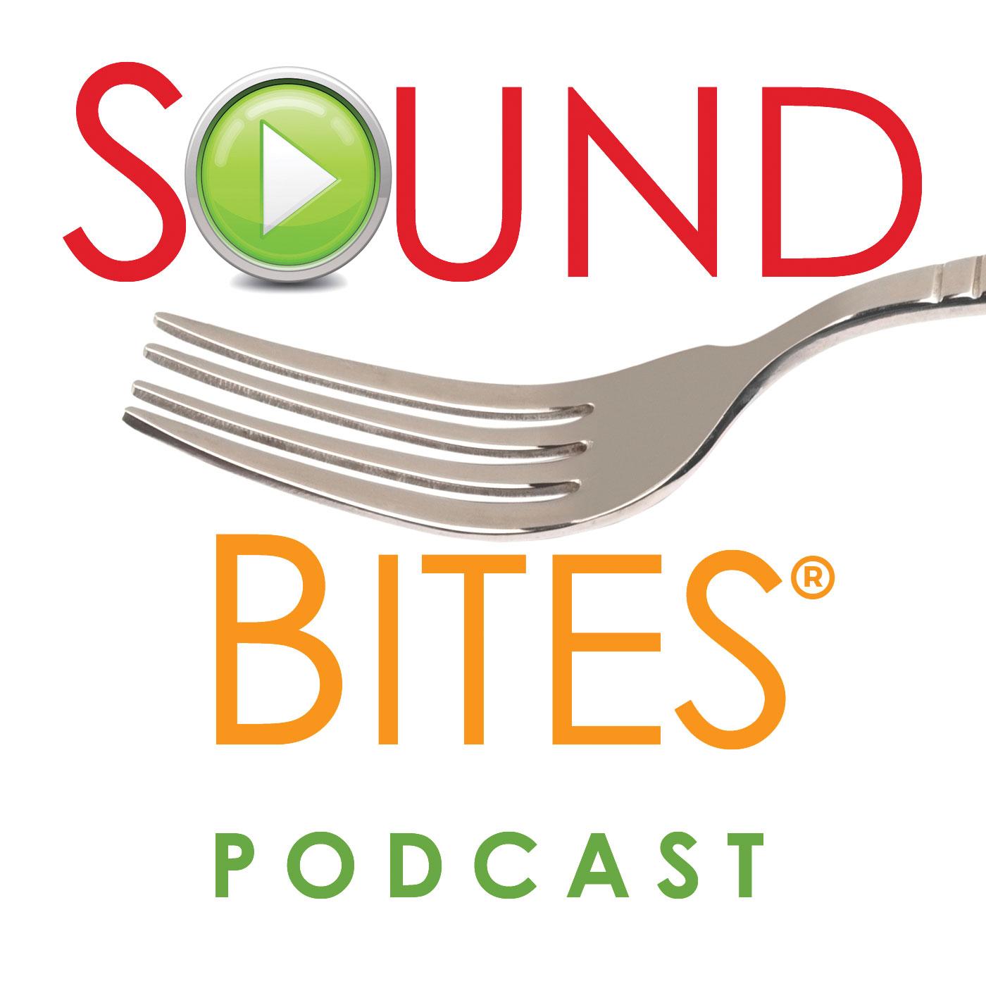 Sound Bites nutrition podcasts logo
