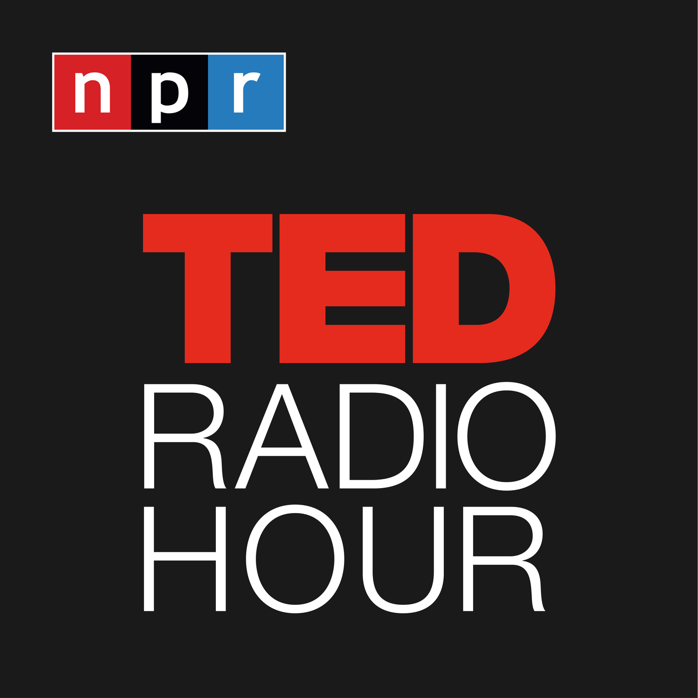 TED Radio Hour podcast logo