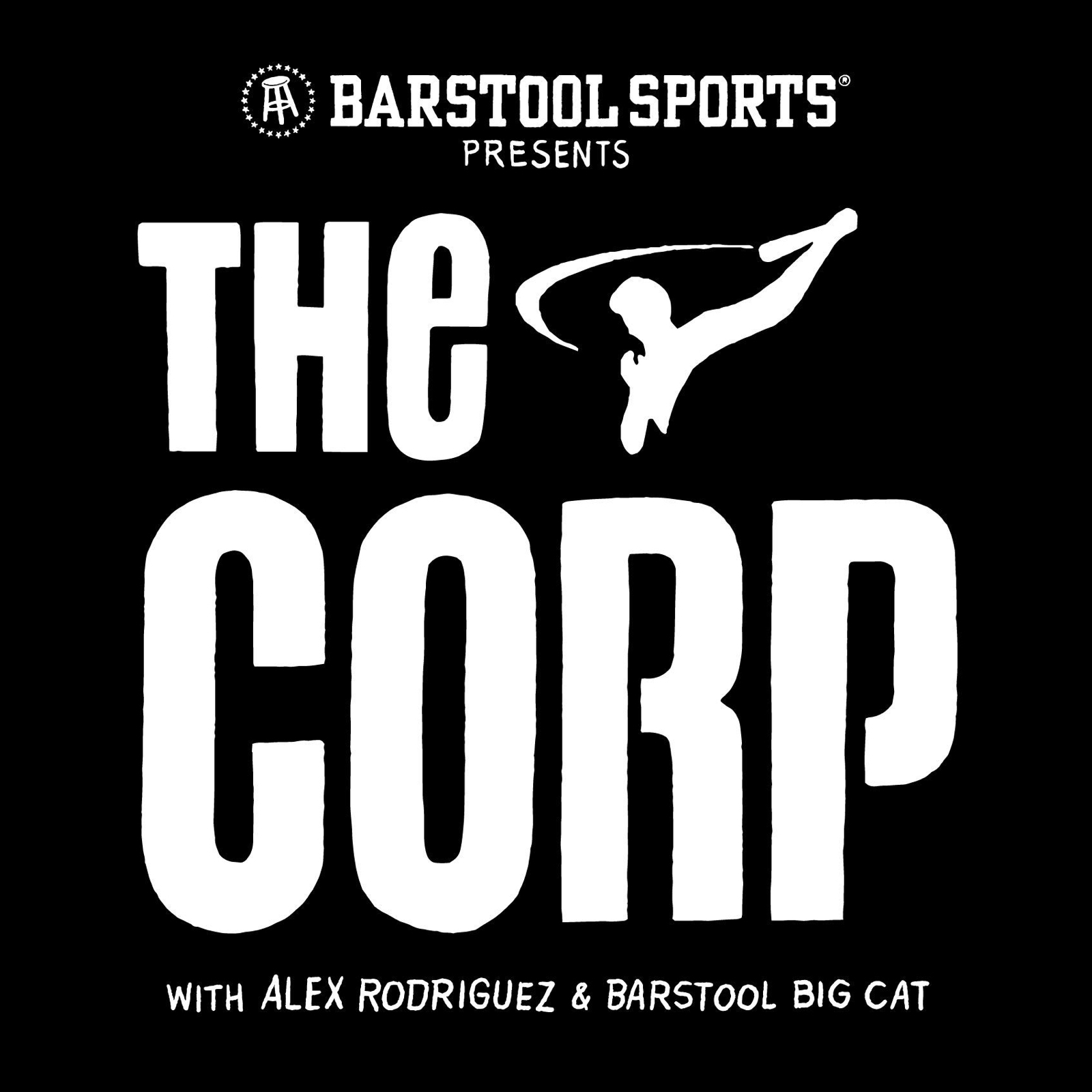 The Corp podcast logo barstool sports